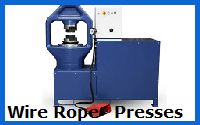 wire rope presses
