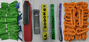 colour coded webbing slings