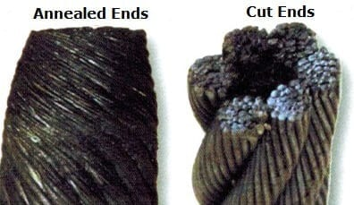 annealed wire rope