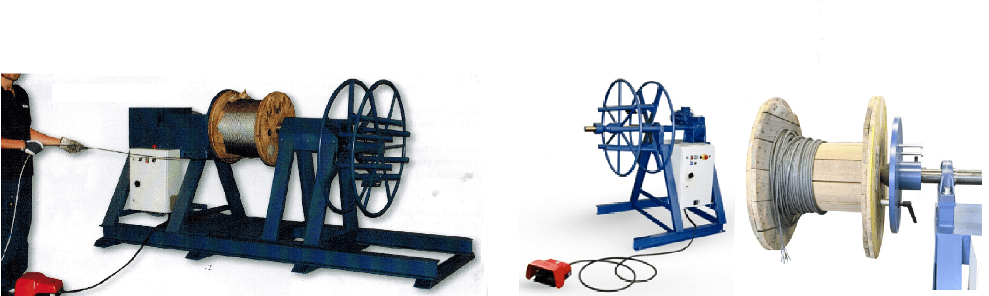 coiling machines and reeling machines