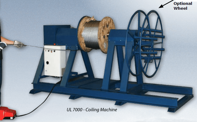 Coiling Machines Reeling Machines Wire Rope Specialist