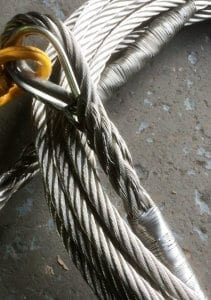 hand spliced wire rope assemblies