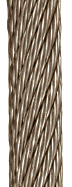 18x7 stainless steel wire rope
