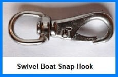 swivel boat snap hook