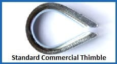 standard commercial thimble