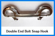 double end bolt snap hook