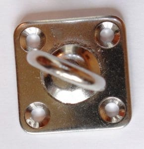 four hole swivel eye plate