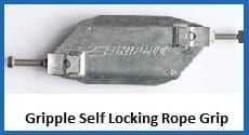 gripple self locking rope grip