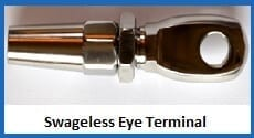 swageless eye terminal