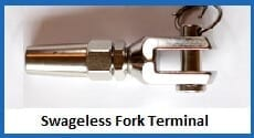 swage-less fork