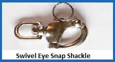 swivel eye snap shackle