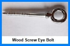 wood screw eye bolt
