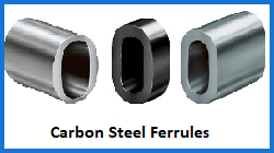 carbon steel ferrules