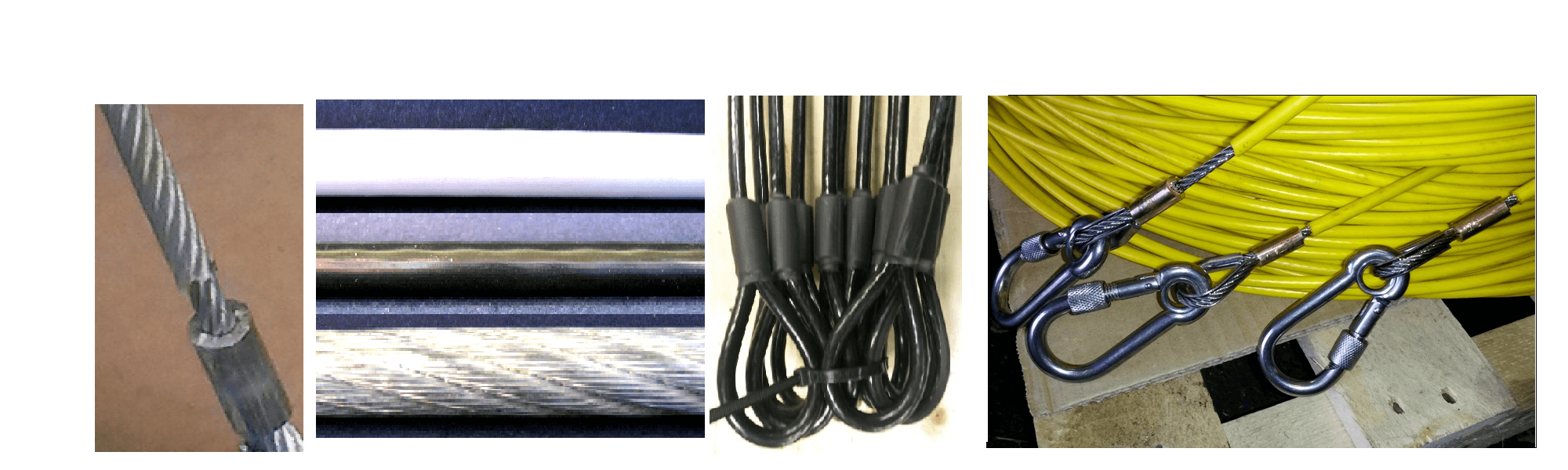 plastic coated wire ropes