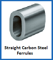 straight carbon steel ferrules