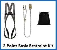 2 point basic restraint harness kit