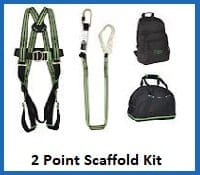 2 point scaffold harness kit
