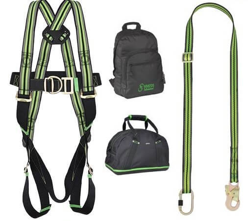 2 point restraint harness kit (adjustable web lanyard)