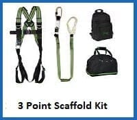 3 point scaffolders harness kit