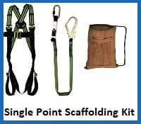 single point scaffolding kit